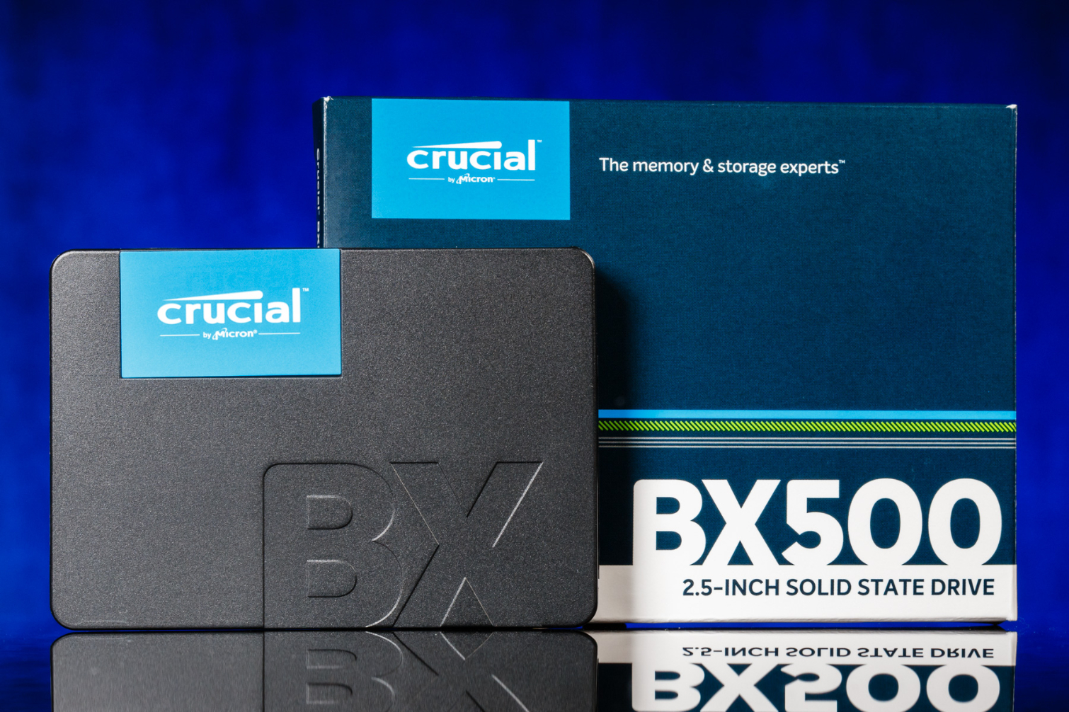 Crucial BX500 SSD Review: L'invasion DRAMless continue